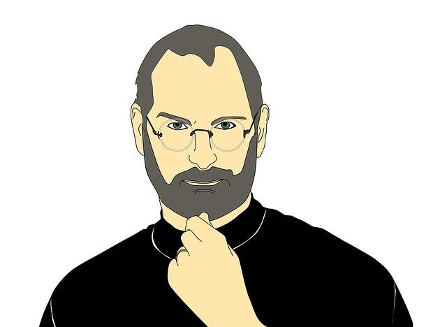 Steve Jobs. Teď už bez Applu.