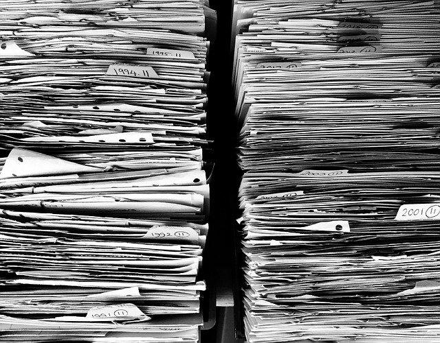 papír doklady