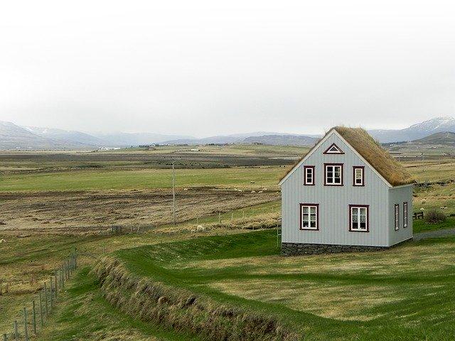 Dům, sedlová střecha